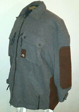 VTG 90s Quicksilver Snow ~ Snowboarder Jacket ~ Made USA ~ Gray/Brown ~ Small
