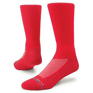 """New with Tags Stance Socks """"Athletic Icon Red"""" (L 9-12) Performance Crew"""