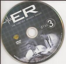ER (DVD) Season 7 Disc 3 Replacement Disc U.S. Issue!