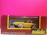 SOLIDO AGE D'OR SUPERBE CORD L29 1929 1/43 EN BOITE O3