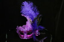 New Orleans Mardi Gras Masquerade Mask Costume Prom Valentines Lingerie party