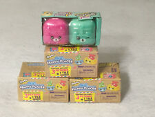 Lot of 4 - 1 Shopkins Season 5 and 3 Season 1 Happy Places New Unopened Toys