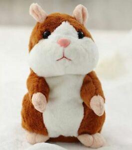 Cute Talking Hamster Adorable Record Speak Toys Gift Toy for Lovely Kids