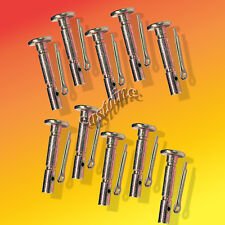 (10)  MTD # 738-04124A & 738-04124 Snowblower Shear Pin-Cotter Pin