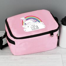 Personalised Unicorn Lunch Bag  - Back to School