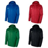 Nike Men's Dry Park18 Rain Jacket Waterproof Windproof Windbreaker Hoodie size