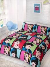 Parures et housses de couette multicolores avec des motifs Graphique pour chambre
