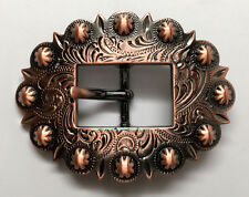 """WESTERN HEADSTALL BRIDLE SADDLE COPPER COLOR BERRY CART BUCKLE fit's 3/4"""" wide"""