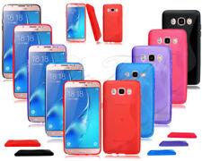 Fundas y carcasas Samsung color principal verde de silicona/goma para teléfonos móviles y PDAs