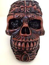 Skull Resin Box Trinket Storage Keepsake Jewelry Gift Collectibles Home Decored