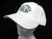 Nautica sport  BaseBall Cap Ball Hat Military NWT One Size  White cotton