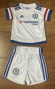 💙⭐Adidas Baby Chelsea Football Club Football Strip Shorts 3-6 months ⭐💙