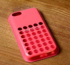 Original Apple iPhone 5c Case -Pink- Schutzhülle Silikon Hülle Cover MF036ZM/A