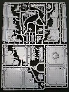 Warhammer 40K Terrain Ruin Floors Pillars Mechanicus Manufactorum Battle Sanctum