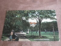 1908 fr Sussex postcard - Steyne Gardens scene - Worthing