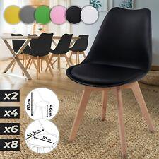 Esszimmerstühle 2 4 6 8er Set Küchenstühle Wohnzimmerstühle Polsterstuhl Stuhl
