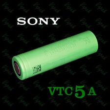 3 Sony Vc7 18650 3500mah High Drain Flat Top Rechargeable Battery / Green Case