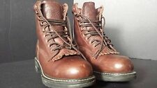 Vtg Brown Leather Smoky Mountain Hiking Boots women 6.5