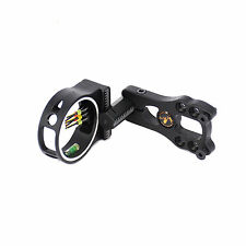 5 Pin 0.029'' Optical Fiber Bow Sight Led Sight Light Archery for Compound bow