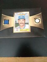 1987 Billy Williams All-Star Authentic Jersey/ Ball Card  Upper Deck