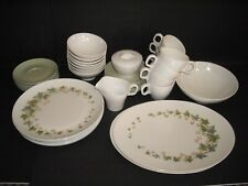 VNT Retro Boonton Ware Somerset IVY Pattern Dinnerware Set 43 Pieces  USA
