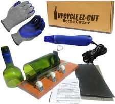 Glass Bottle Cutter, Upcycle EZ-Cut, Wine & Beer Bottle Cutting Machine Tool