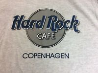 Hard Rock Cafe Copenhagen Mens XL Jersey T Shirt New With Tags