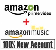 6 MONTHS Amazon Prime Video + Prime Music   FAST DELIVERY   