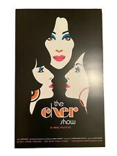 The Cher Show Broadway Musical Poster Window Card