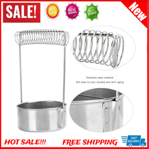 Paint Brush Washer Cleaner Stainless Steel Uncoated Cleaning Pot Oil Painting