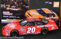 Tony Stewart 2007 Motorsports Authentics 1/24 #20 Home Depot Bud Shootout Raced