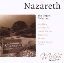 NAZARETH SINGLES COLLECTION LOVE HURTS, MY WHITE BICYCLE,RAZAMANAZ  NEW CD