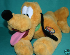 "DISNEY PLUTO PLUSH DOG  9""  BEAN BAG PLUTO PLUSH TOY DOG NEW"