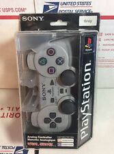 NEW/SEALED GENUINE PLAYSTATION 1 DUALSHOCK ANALOG CONTROLLER - WARRANTY