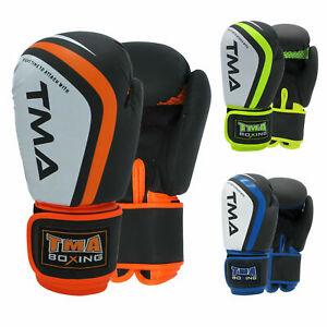 TMA Boxing Gloves MMA Punching Glove Training Bag Sparring Muay Thai Kickboxing