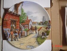 Royal Doulton Collectors Plate THE WATER MILL - JOURNEY THROUGH THE VILLAGE