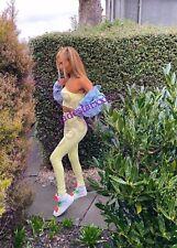 Zara Yellow Seamless Leggings XS - S New
