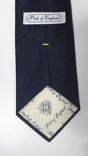 Briar Pride of England Tie Mens Neckwear Navy Blue Classic Diamond Emboss (1958)
