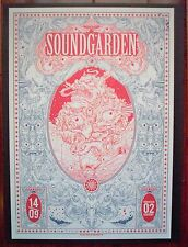 SOUNDGARDEN Birmingham England 2013 Rock Concert mini Poster