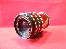 Objektiv Lens Travegar 3,3 /100 mm R A.Schacht Ulm Zustand gut für Praktina