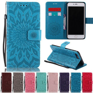 Sunflowers Wallet Leather Flip Case Cover For iPhone 12 Pro Max XS Max 11 8 Plus