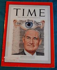 Time Magazine May 8 1950 Sulzberger New York Times Newspaper Journalism