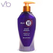 IT'S A 10 Miracle Shampoo Plus Keratin 10oz  Made In USA Sulfate FREE, its a 10