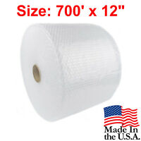 """Bubble + Wrap 3/16"""" 700 ft. x 12"""" Small Padding Perforated Moving Shipping Roll"""