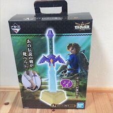 Ichiban kuji Zelda Hyrule Lifestyle-2 A Master Sword Shoehorn w/sounds