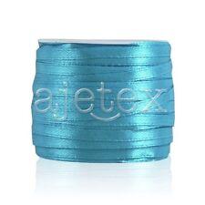 25/50Yard Satin Ribbon 3/6/10/15/20/25/38/50mm Craft Wedding Favor 30 Color IF