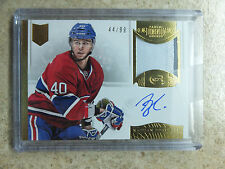 13-14 Panini Dominion Autographed Rookie Patch Horizontal RC NATHAN BEAULIEU /99