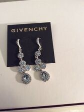 Givenchy Core Key Blue Glitz Linear Drop Earrings $48 119 D GE