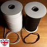 6mm Flat Sewing Elastic for Crafts Face Mask QUALITY UK STOCK Thin Strip