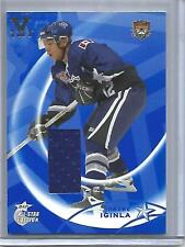 Jarome Iginla 02/03 Be A Player All-Star Game Used Jersey #1/1